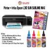 Printer Epson L300 + Infus Tinta SUN SUBLIME MAX INK