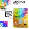 MicroSD W-Stor 8 GB Class 6