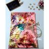 Crystal Pink - Square (120 x 120 cm) - Bhn Premium Satin Sutra Import
