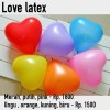 Balon latex love