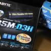 Motherboard Gigabyte GA-B85M-D3H + Intel Core i7-4770 box Bandung