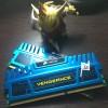 Corsair Vengeance DDR3 4GB (2x2GB) Blue - CMZ4GX3M2A1600C9B