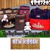 Tas Bayi Besar Print Boneka + Tempat Botol Susu Double (TBSD) TPT 7207