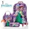 6d Troli koper luggage pikachu frozen tas anak