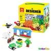 Mainan Edukasi Brick Lego WANGE Designer 58231 Duplo Classic 625pc