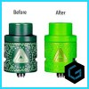 Limitless RDA Changing Color Green Clone RDA RTA RTA Tank Vape