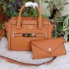 Tas fashion wanita import murah / coach swagger set dompet