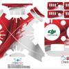 Sticker drone dji phantom 3 standart Flag 2