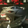 Helm KYT Scorpion King Black Doff Solid Halface Dop Visor