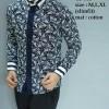 Baju Kemeja Batik Pria Modern Slim fit lengan panjang CB-311