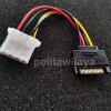 Cable Power Sata 15P To Molex 4P