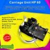 Carriage Unit HP 60 Black Color, Main Carriage Printer d1660 d2566
