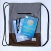 Tas Serut Envist Primero String Bag - Smooth Gray