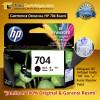 Cartridge Tinta HP 704 Black Original Catridge HP CQ750A 2010 2060