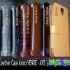 Premium leather Flipcase AXIOO VENGE Kulit Sapi Asli Flip case Book