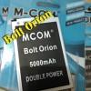 Baterai M-COM Bolt Orion Double Power 5000mAh