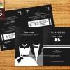 WEDDING INVITATION / UNDANGAN PERNIKAHAN TUXEDO II