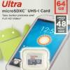 MICROSD SANDISK ULTRA CLASS 10 48MB/S 64GB