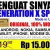 100% ORIGINAL Penguat Sinyal Antena HP, BB, Android, Iphone, modem