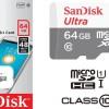 SANDISK MicroSD 64GB 48MB/S CLASS 10 NO ADAPTER / GARANSI RESMI