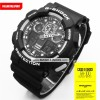 Jam Tangan Pria Casio G-Shock GA-100 Black White