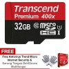 Memory Hp - Micro Sd - Memory Card TRANSCEND 32GB 60MB UHS1