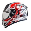 Helm MDS Victory Black Red Full Face Motif Fullface Motif
