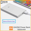 Xiaomi Mi Power Bank 5000 Mah Original + Silicon Case