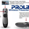 Prolink PWP102G / PWP 102G - Wireless Presenter 2.4GHz Red Laser