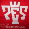 Kaos PES Super Star Level - Gildan Softstyle 63000 Red/Merah