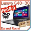 PROMO!! LENOVO G40-30 | Intel 2840 RAM 2GB, HDD 500GB | BLACK | G40 30