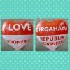 Balon / Balon Dirgahayu RI / Balon I Love Indonesia
