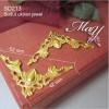 Ornamen Sudut box/kotak emas. SD213