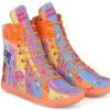 sepatu boots anak , boot anak perempuan terbaru motif bagus cnc 411