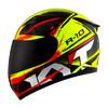 Helm KYT R10 Full Face Yellow Fluo FullFace R 10 #2 New
