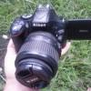 kamera nikon d5200 lensa KIT VR muluss
