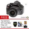 Nikon D5200 18-55mm VR lens Free++ 24.1MP