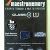 Original Micro SD Vgen Maestro Class 10 8GB