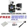 Go Pro Hero 4 black + mmc 32gb + monopod 3way ; Gopro Hero4 black