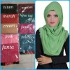 Jilbab Rawis segi empat / segi 4 ombre / segi empat polos