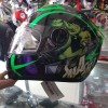 Helm MDS Provent Avenger Hulk Green Fullface Visor Fluo Pro-Vent