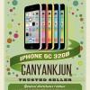 Iphone 5C 32GB garansi platinum 1 tahun