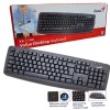 Genius Keyboard KB-110X USB / Keyboard Genius KB 110X / Keyboard hitam