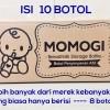 BOTOL KACA ASI BKA MOMOGI ISI 10 BOTOL TERMURAH !!! BOTOL KACA VIAL