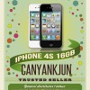 [Agen/suplier]iphone 4S 16GB GSM FU garansi distributor PLATINUM support BLESS 1 tahun (bersegel)