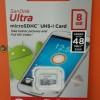 SANDISK Ultra Micro 8GB class 10 (48mb)