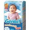 Diapers Nepia Genki M64 Premium Soft Tape Size M Isi 64