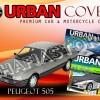 PEUGEOT 505 FULL BLACK COVER SELIMUT MOBIL URBAN WATERPROOF