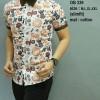 Baju Batik Pria Modern slim fit lengan pendek OB-339