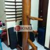 KIMU Gold Panthera Wooden Dummy / Mok Yan Jong Kayu Nangka 160cm/170cm
